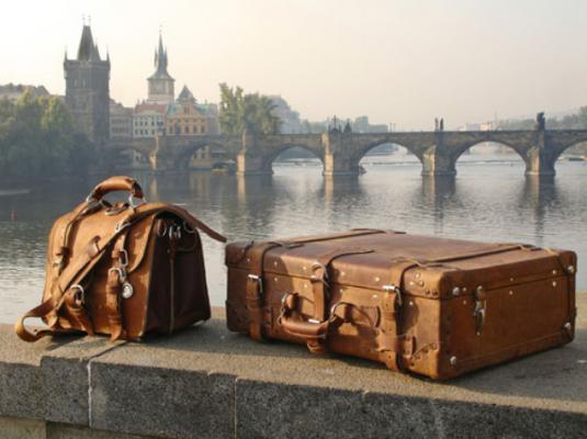 На валізах