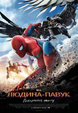 постер Людина павук: Повернення додому