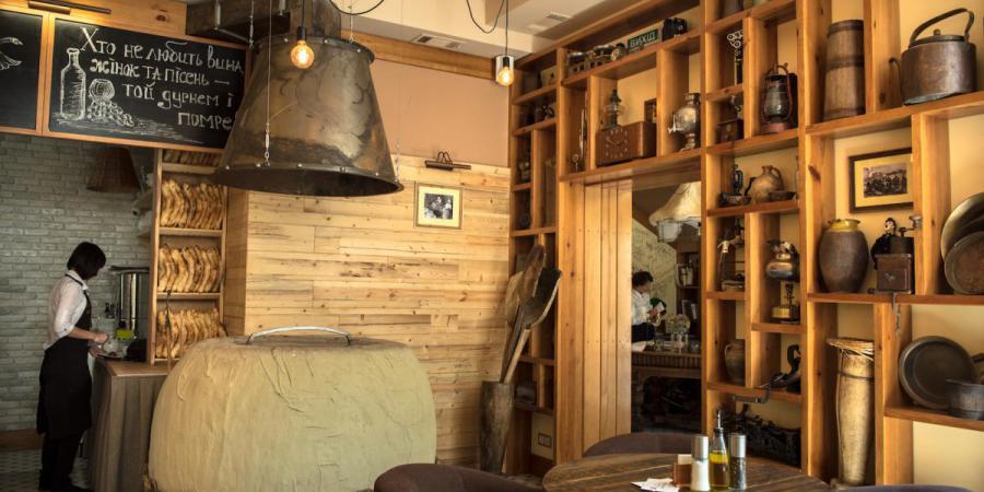 """інтер""""єр, Vinograd (ресторан грузинської кухні)"""