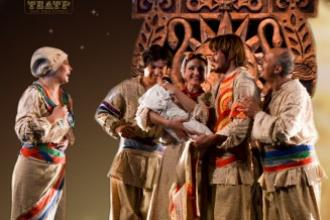 Гастролі Житомирського театру. Кайдашева сім'я
