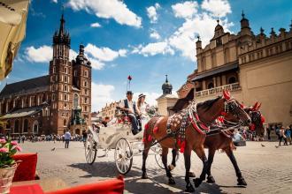 Кращі коліжанки Чеського королівства:  Прага, Дрезден, Карлові Вари + Краків