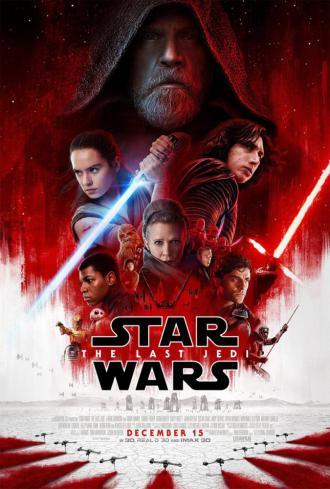 постер Зоряні війни: Останні джедаї