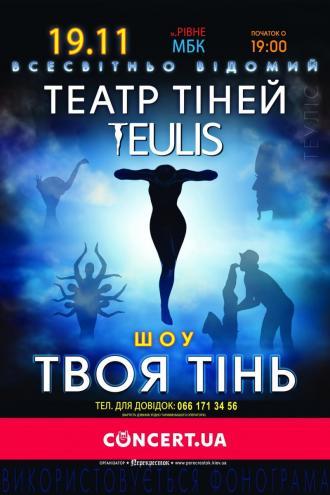 """постер Театр тіней """"TEULIS"""""""